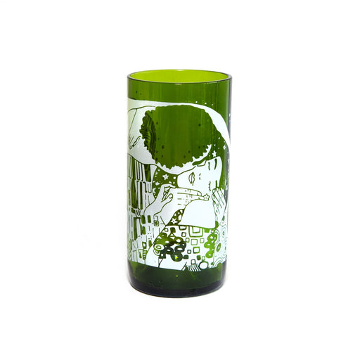 Vasos Green Glass Avant Garde