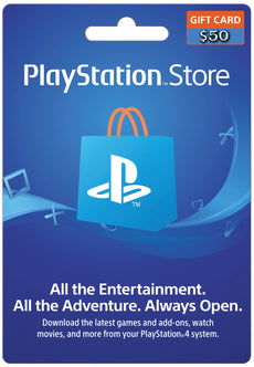 PSN Wallet TOP UP 50 USD