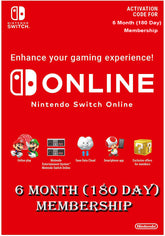 Nintendo Switch Online 6 Month (180Day) Membership Switch