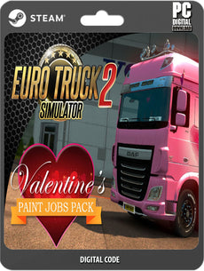 Euro Truck Simulator 2 - Valentine's Paint Jobs Pack-Acessories