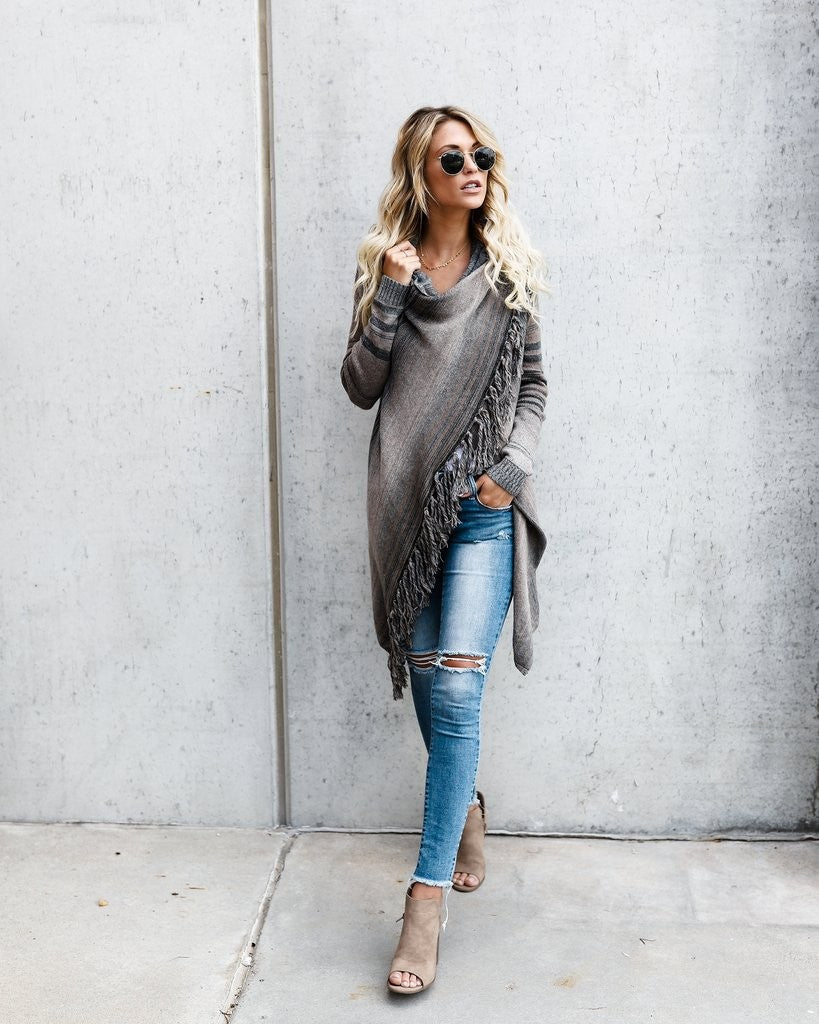 Asymmetrical Design Sweater