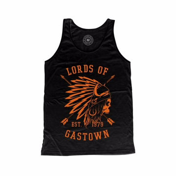 Lords Of Gastown - OG Chief Unisex Tank - Harley Orange