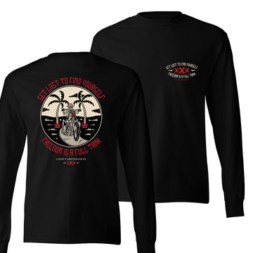 Lords Of Gastown - Get Lost To Find Yourself - Long Sleeve Shirt