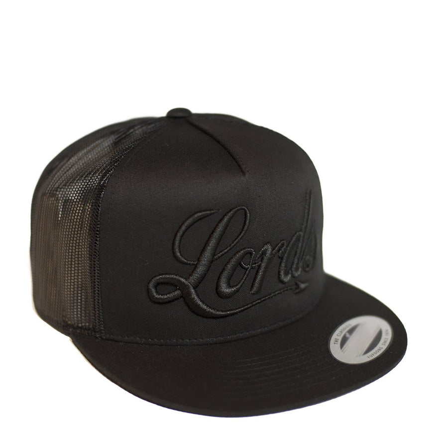 Lords Of Gastown - Lords Black - Embroidered Hat