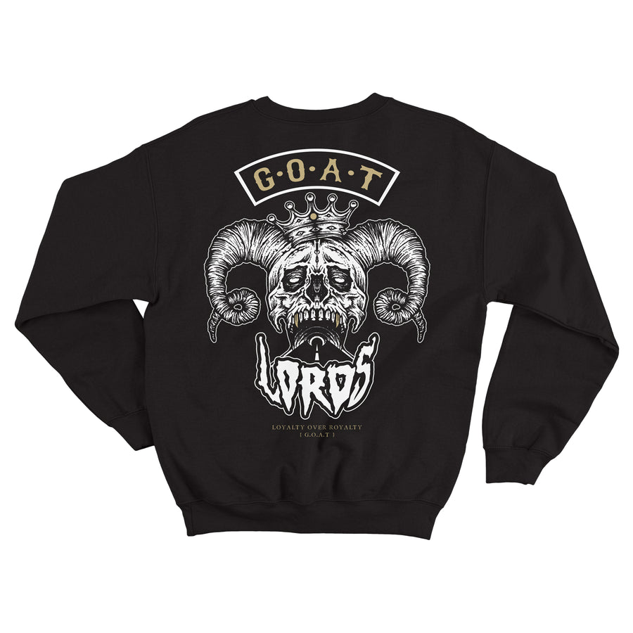 Lords Of Gastown - G.O.A.T. Collection - G.O.A.T. Black Crew Sweatshirt
