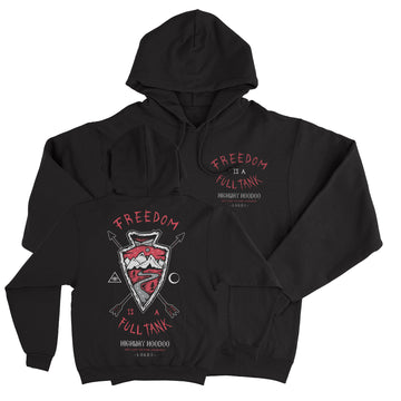 Lords Of Gastown - Freedom Arrow - Black Pullover Hoodie