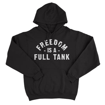Lords Of Gastown - Freedom Is A Full Tank - Black Pullover Hoodie
