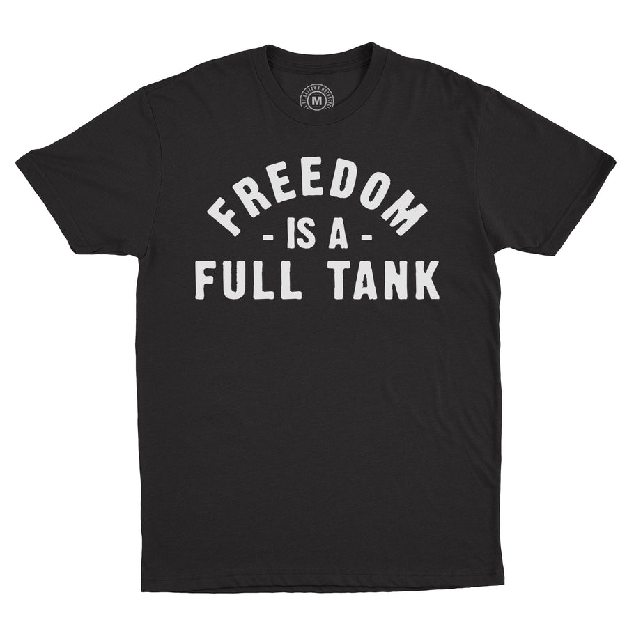 Lords Of Gastown - Freedom Is A Full Tank - Black Unisex Tee