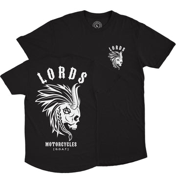 Lords Of Gastown - G.O.A.T. Collection - Mohawk - Black Long Tee