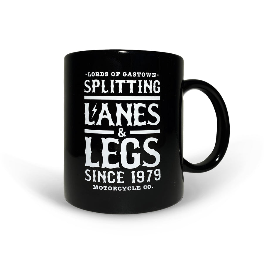 Lords Of Gastown - Splitting Lanes - Black Mug
