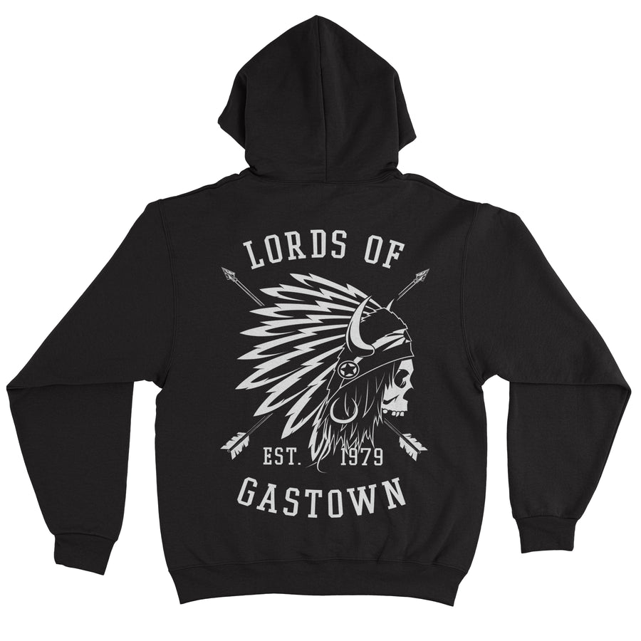 Lords Of Gastown - OG Chief - Black Pullover Hoodie