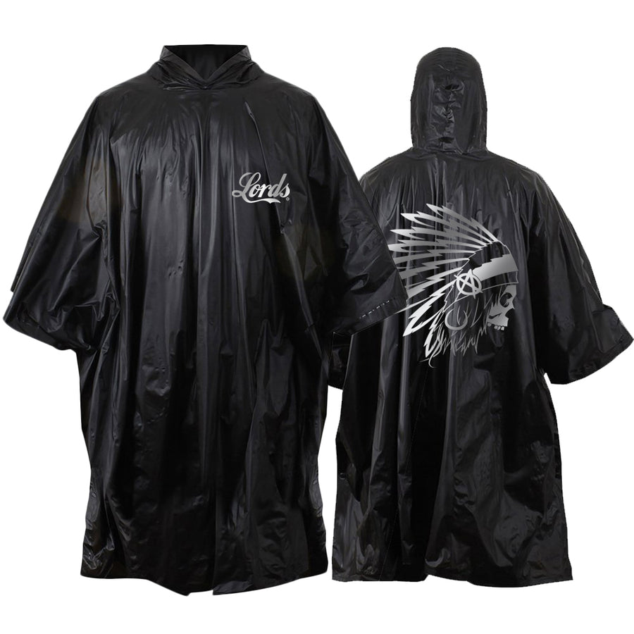 Lords Of Gastown - OG Chief - Black Poncho