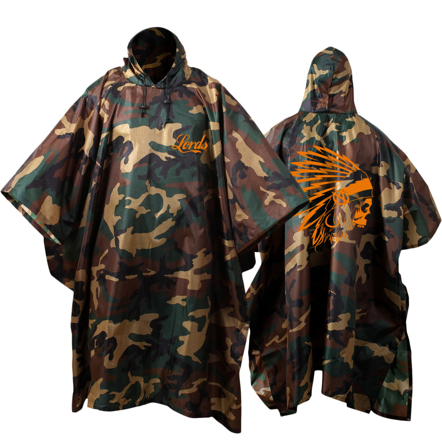 Lords Of Gastown - OG Chief - Camo Poncho