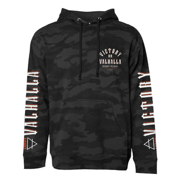 Lords Of Gastown - Victory or Valhalla - Black Camo Pullover Hoodie
