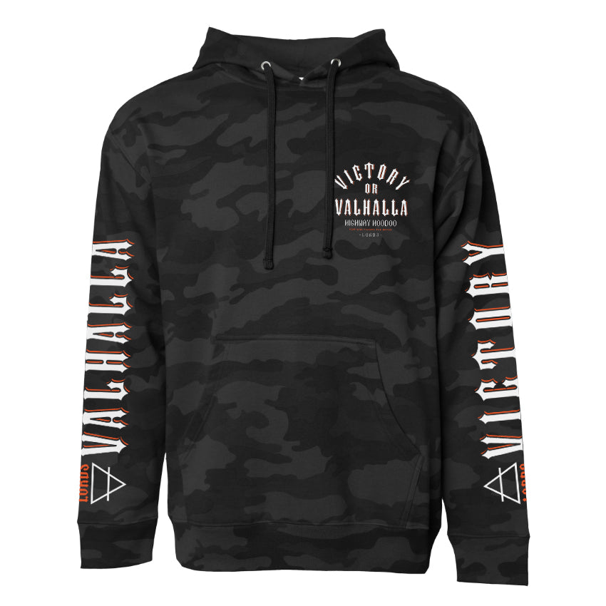 Lords Of Gastown - Victory or Valhalla -  Pullover Hoodie