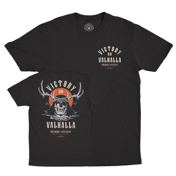 Lords Of Gastown - Victory or Valhalla Tee - Black Unisex Tee