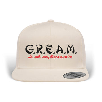 PRE ORDER - Lords Of Gastown - G.R.E.A.M. - Snapback Hat - Natural