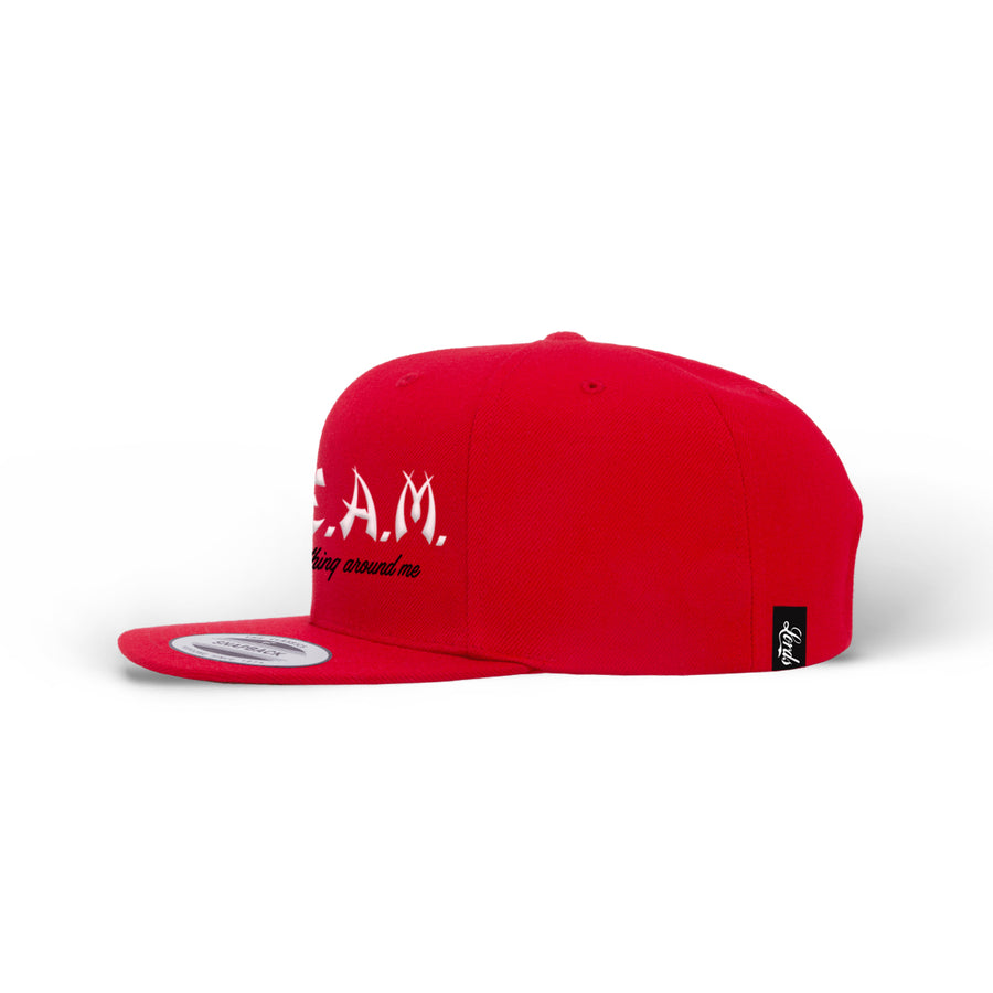 PRE ORDER - Lords Of Gastown - G.R.E.A.M. - Snapback Hat - Red