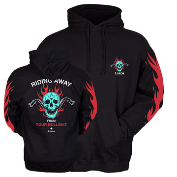 Lords Of Gastown - Riding Away Pullover Hoodie