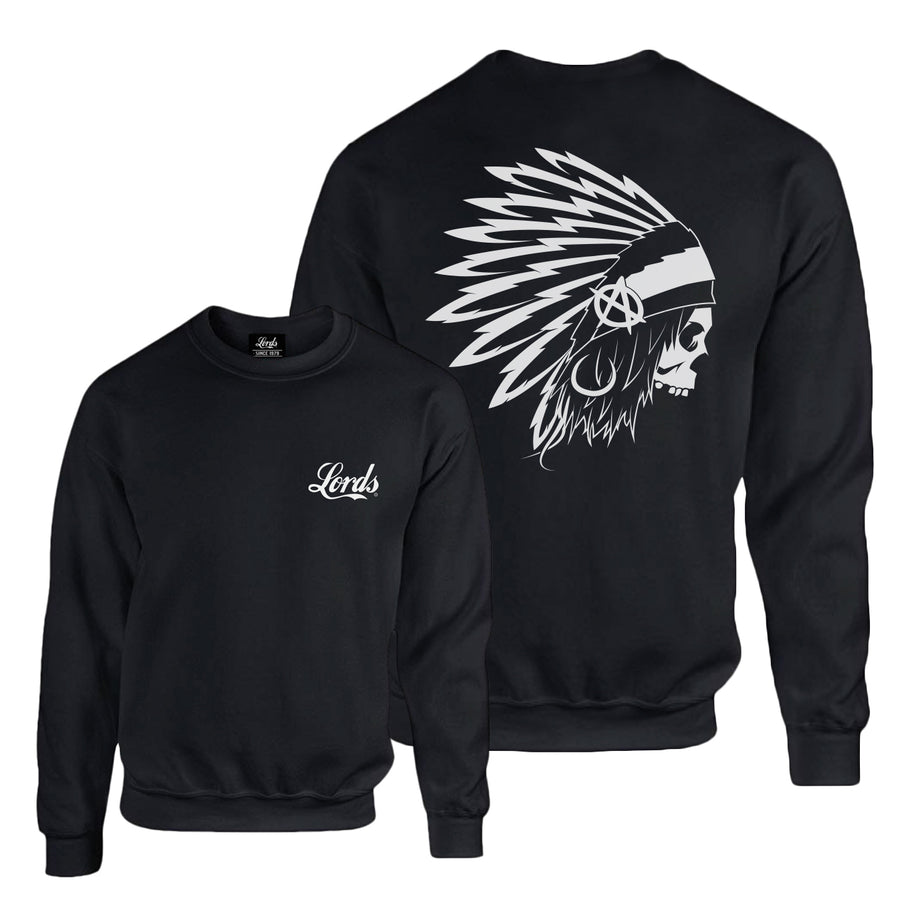 Lords Of Gastown - OG Chief - Black Crew Sweatshirt