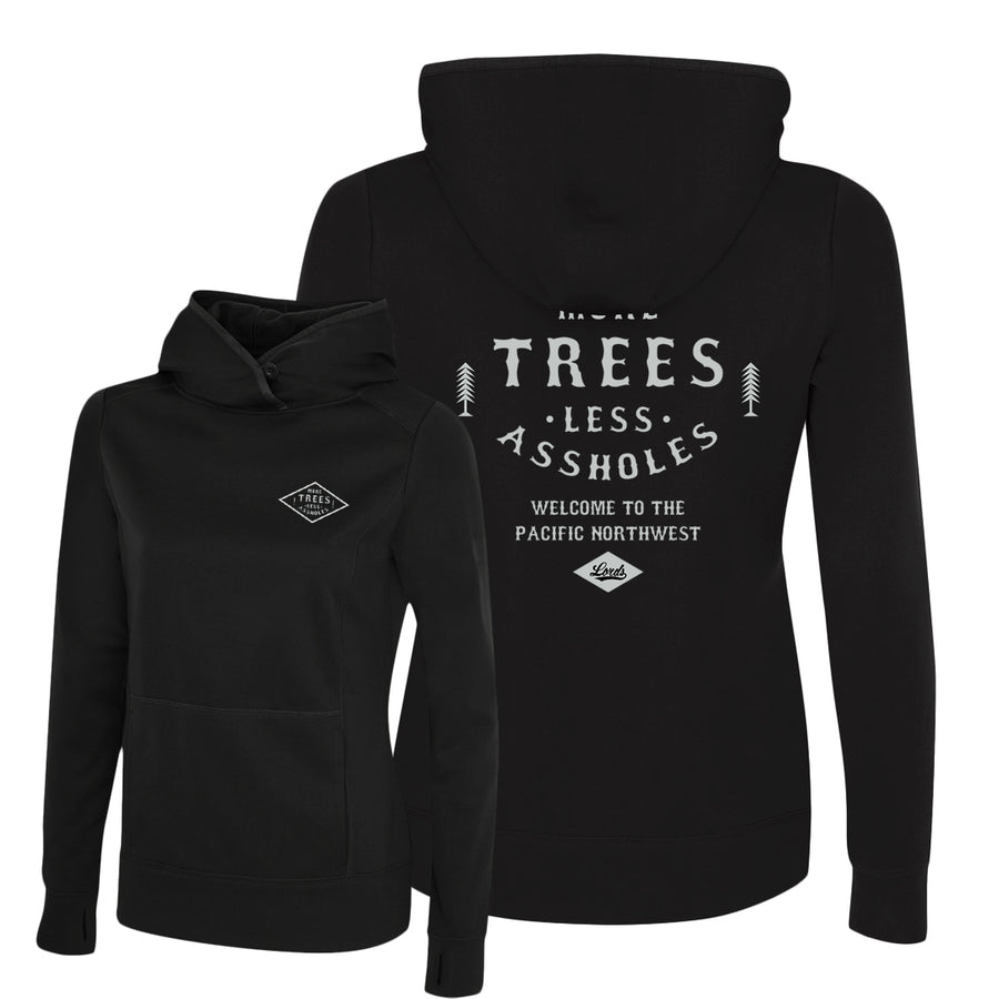 Lords Of Gastown - More Trees - Women's Pullover Hoodie
