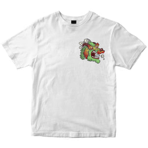 Dragon Head - Unisex - White