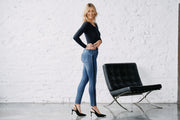 Wonderjeans Ankle Galon Stone blue super wash