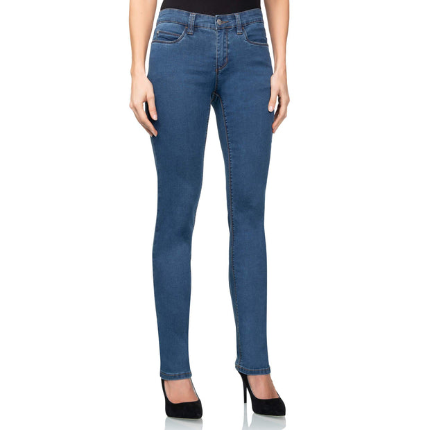wonderjeans regular super stone blue jeans WC82322 front view