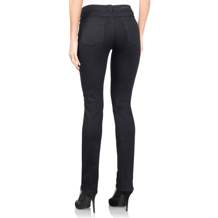 wonderjeansregular black jeans WC82200 back view