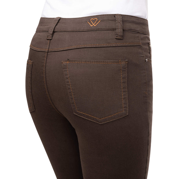 wonderjeans walnut back pocket