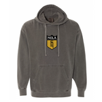 504 Shield X Comfort Colors Hooded Sweatshirt