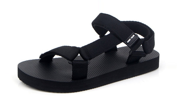 Black Strap Eva Foam Sandals