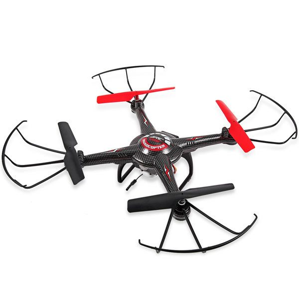 Fpv Quadcopter With Remote and Monitor