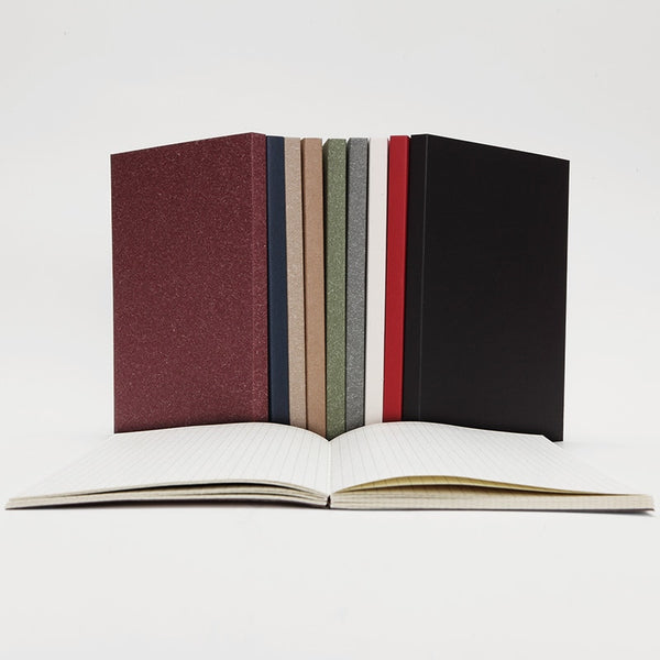 Hardcover Grid Notebook
