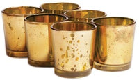 24pk Glass Candle Holders