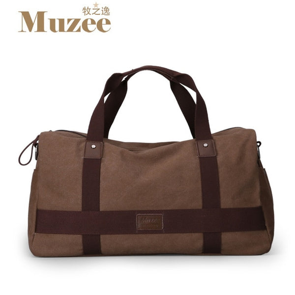 Large Canvas Travel Duffle Bag