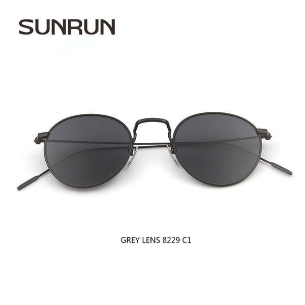 Wire Frame Reflective Sunglasses