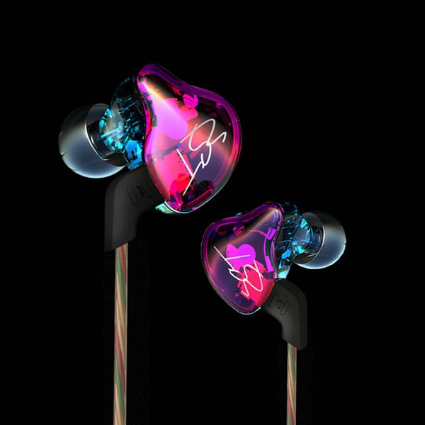 KZ ZTE Dual Driver In Ear Headphones