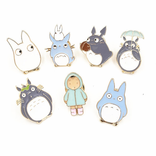 Cartoon Brooches