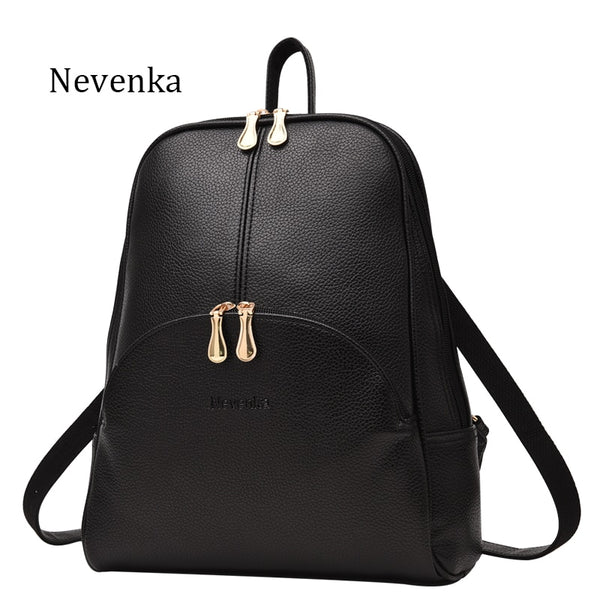 Leather Pendant Backpack