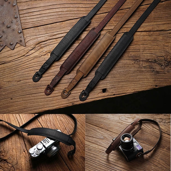 Hand Made Genuine Leather Camera Strap