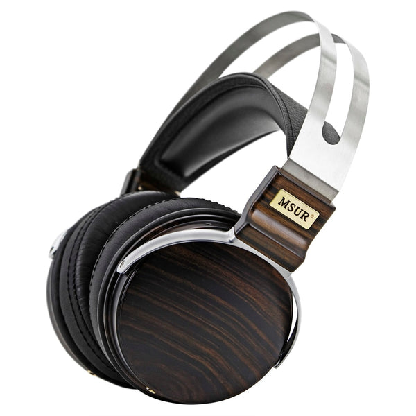 HiFi Wooden Metal Headphones
