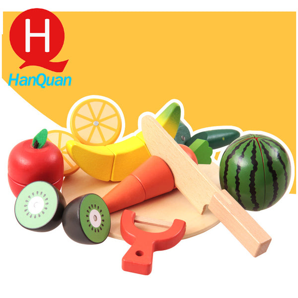 Magnet Fruit Chopping Toy Set
