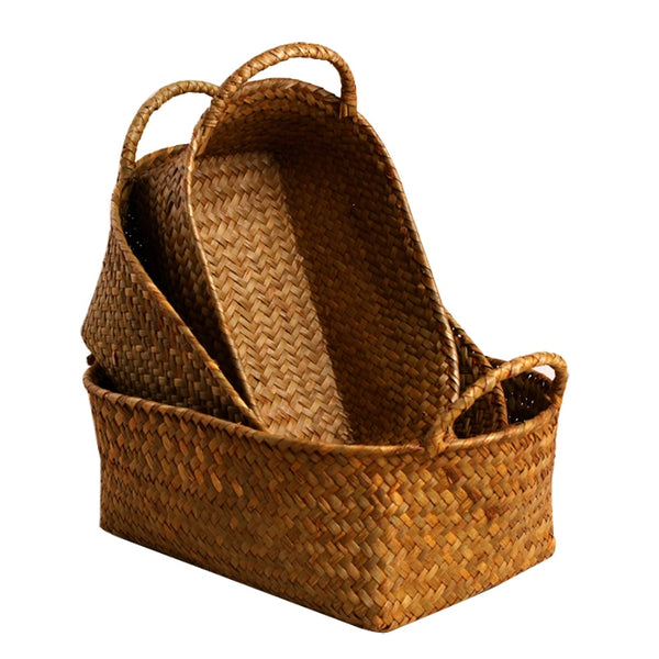 Woven Natural Storage Basket