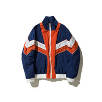 Retro Patch Track Jacket
