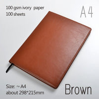 A4 Leather Notebooks