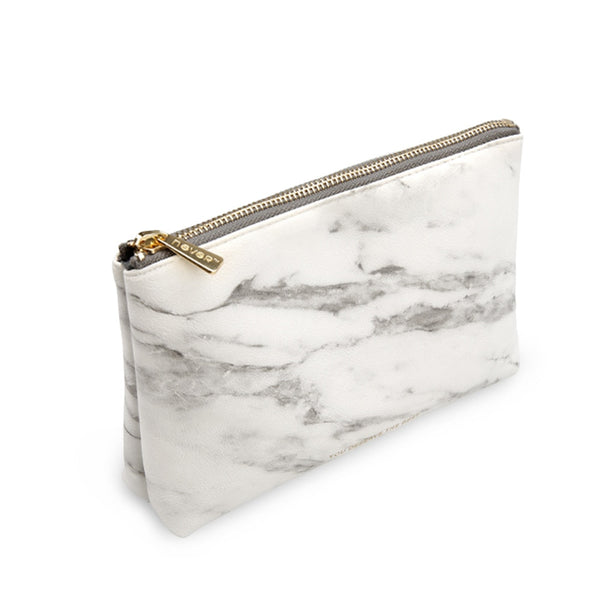 Luxe Marble Makeup Case