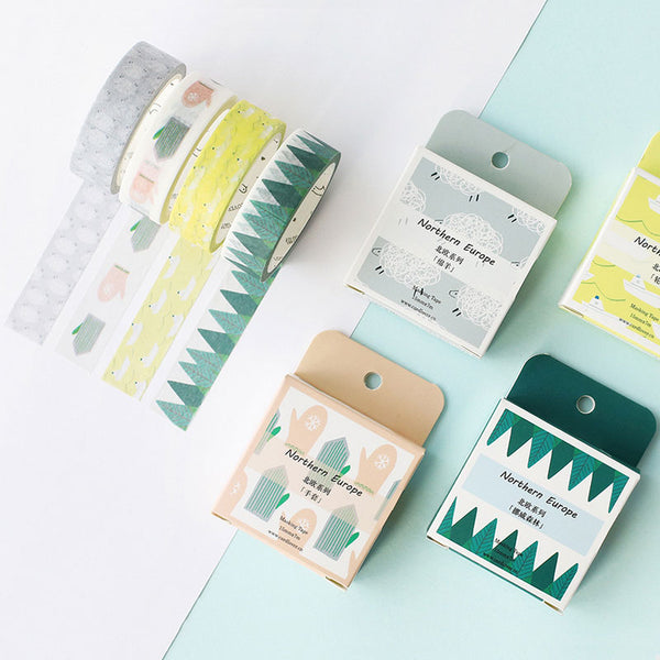 Nordic Forest Washi Tape