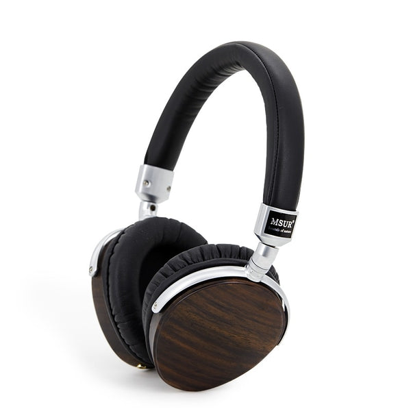 Noise Isolating HiFi Wooden Headphones