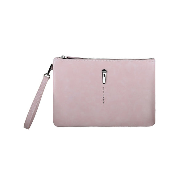 Pin Leather Clutch